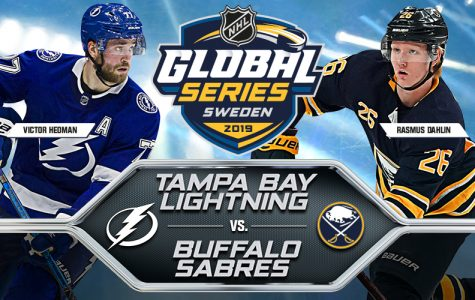 Tampa Bay Lightning Strike Buffalo Sabres at Global Series in Stockholm, Sweden.
