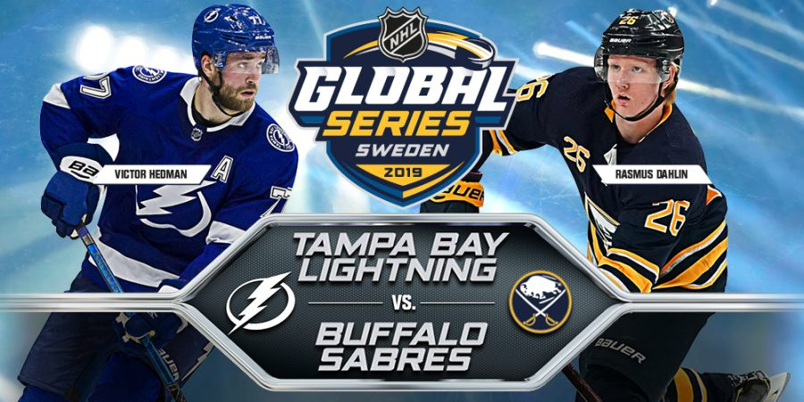 Lightning+sweep+Sabres+at+Global+Series+in+Stockholm%2C+Sweden.+
